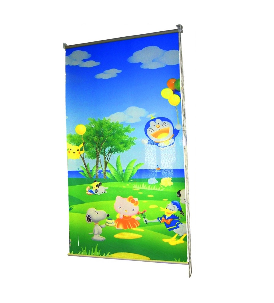Curtain Roll Up Banner Display